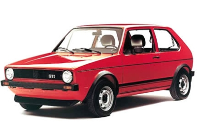 VW Mk1 Golf Early Small Bumpers Image