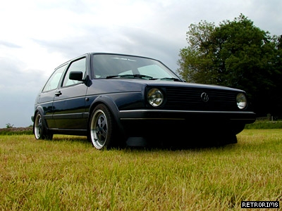 VW Mk2 Golf GTI Helios Blue Image