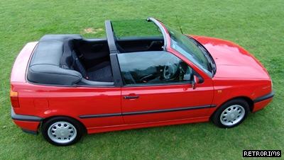 VW Mk3 Golf Cabriolet Image