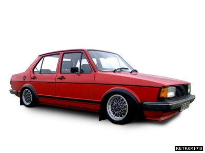 VW Mk1 Jetta with Exip Alloy Wheels Image
