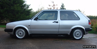 VW Mk2 Golf BBS RM Alloy Wheels Image
