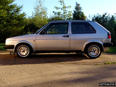 Mk2 Golf Ronal Turbo Alloys Image