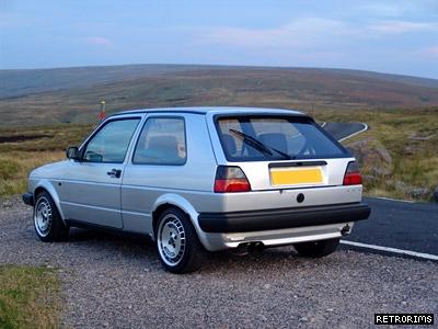 Mk2 Golf Ronal Turbos Image