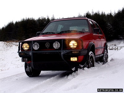 VW Mk2 Golf Country Image