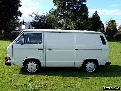 VW Transporter T3 Brick Van Image