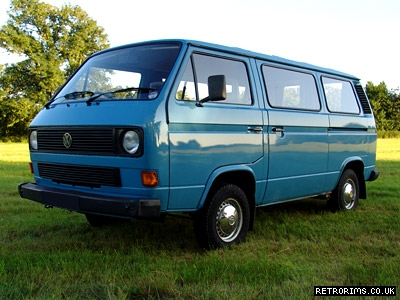 VW Transporter Camper Van Image