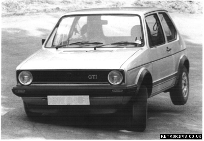 Image of a VW Mk1 Golf GTI