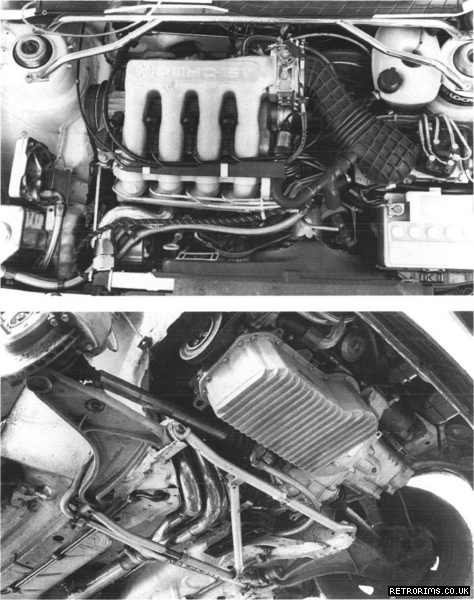 Image of a BR Motorsport 1,802cc engine giving 180bhp