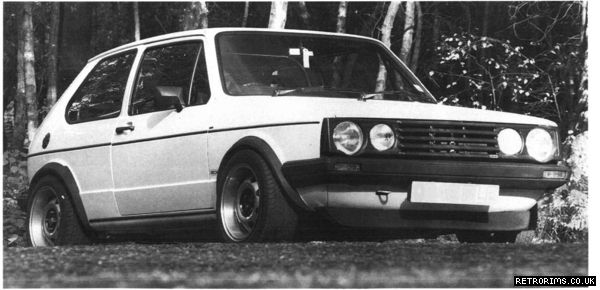 Image of VW Mk1 Golf by John Boucoyannis