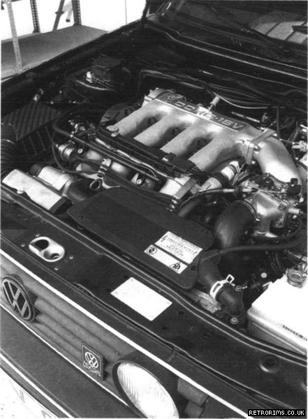 Engine of the VW G60 Limited