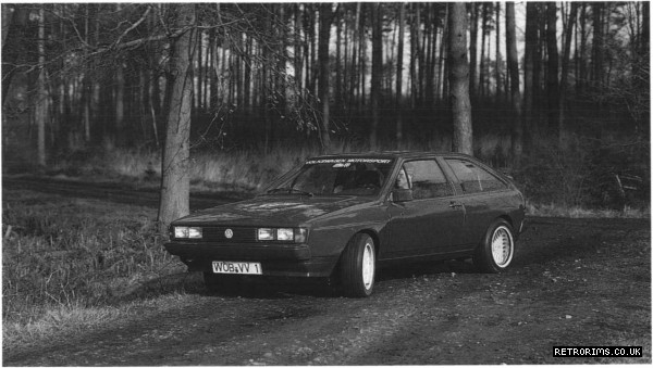 Twin Engined VW Scirocco